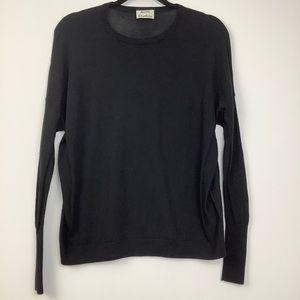 Acne Studios Carel Merino Wool Sweater in Black
